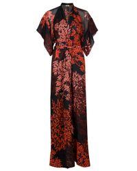 Issa | Multicolor Kimono Sleeve Long Dress | Lyst