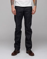 Naked & Famous | Purple Slim Guy Broken Twill for Men | Lyst