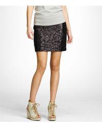 Tory Burch - Black Linia Skirt - Lyst