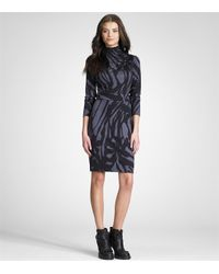 Tory Burch | Gray Thamara Dress | Lyst