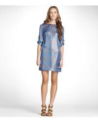 Tory Burch - Blue Judith Dress - Lyst