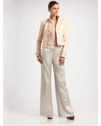 Ralph Lauren Black Label | Pink Irina Leather Jacket | Lyst