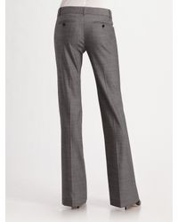 Theory - Gray Max Stretch Wool Suit Pants - Lyst
