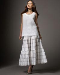 Eskandar | White Petticoat Skirt | Lyst