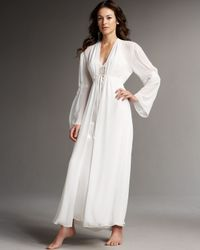 Jonquil | White Amore Long Robe | Lyst