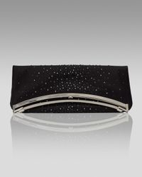 Judith Leiber - Black Fold-over Spumante Clutch - Lyst