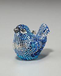 Judith Leiber | Metallic Bird Pill Box | Lyst