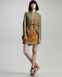 Rag & Bone | Green Covent Trench | Lyst
