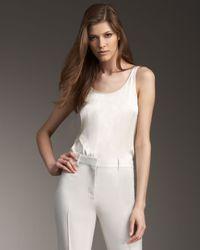 Stella McCartney | White Bodysuit | Lyst