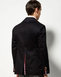 Thom Browne   Blue Deconstructed Peacoat for Men   Lyst