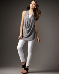 Vince   White Skinny Ankle Jeans   Lyst