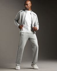 Zegna Sport - Gray Track Pants for Men - Lyst