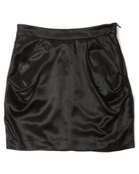 Rogan | Black Amber Mini Skirt | Lyst