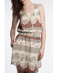 Free People | White Georgette Dress | Lyst