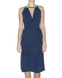 Marc By Marc Jacobs | Blue Florette Dress in Marine | Lyst