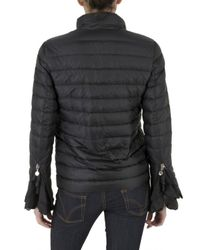 Moncler | Blue Nylon Tecnic Ultra Light Down Jacket | Lyst