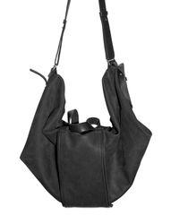 Silent - Damir Doma | Black Large Weekender Calfskin Shoulder Bag for Men | Lyst