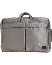 Porter | Gray Three-way Briefcase for Men | Lyst