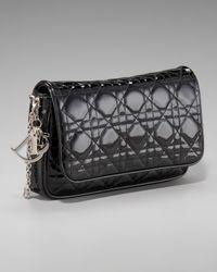 Dior | Black Grande Promenade Pouchette | Lyst