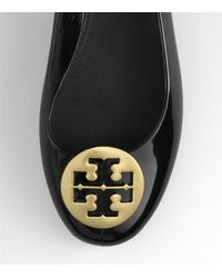 Tory Burch - Black Jelly Reva with Metal Logo - Lyst