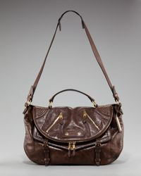 Alexander McQueen | Brown Faithful Medium Satchel | Lyst