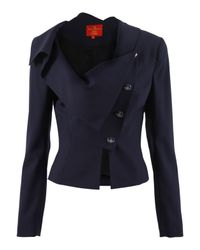 Vivienne Westwood Red Label | Blue Sex and The City Suit | Lyst