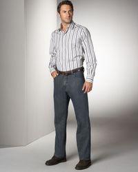 Ermenegildo Zegna | Blue Trigger Jeans, Antique Wash for Men | Lyst
