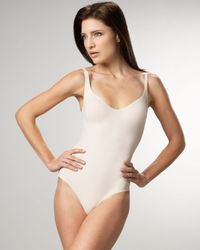 Wolford - Natural Forming Thong Bodysuit - Lyst