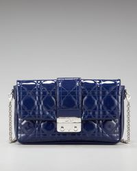 Dior | Blue New Lock Chain Shoulder Bag | Lyst