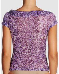 Blumarine | Purple Bodysuit | Lyst