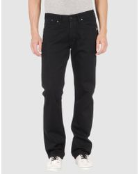 G-Star RAW | Black Denim Trousers for Men | Lyst