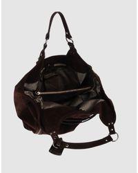 Via Repubblica | Black Medium Leather Bag | Lyst