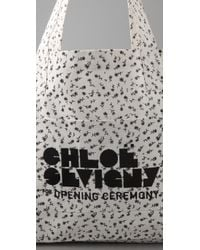 Opening Ceremony   White Large Tote   Lyst
