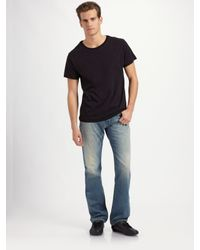 J Brand | Blue Walker Straight-leg Jeans/champ for Men | Lyst