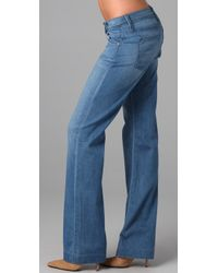 James Jeans | Blue Fly Boy Sand Dry Loose Straight-leg Jeans | Lyst