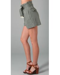 Marc By Marc Jacobs - Green High Waisted Short - Lyst