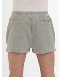 Marc By Marc Jacobs | Gray Overdyed Sweatshorts for Men | Lyst