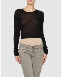 Roberto Cavalli | Black Cashmere Sweater | Lyst