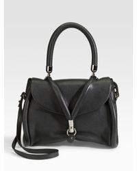 Christian Louboutin | Black Miss Rope Capra Top Handle Bag | Lyst