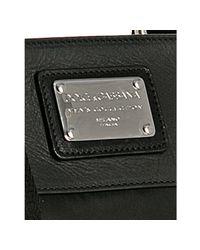 Dolce & Gabbana | Black Nylon Trimmed Mini Messenger Bag for Men | Lyst