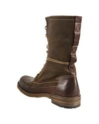 Frye - Green Fatigue Distressed Suede Owen Combat Boots for Men - Lyst