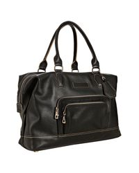 Longchamp | Black Leather Légende Medium Satchel | Lyst