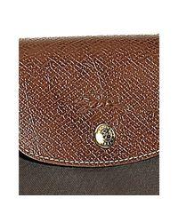 Longchamp - Brown Taupe Nylon Le Pliage Large Folding Shopper Tote - Lyst