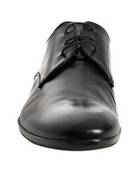 Prada | Black Calfskin Lace Up Oxfords for Men | Lyst