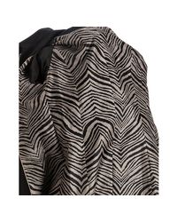Via Spiga | Black Cotton-poly Barca Zip Front Coat | Lyst