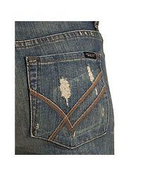 William Rast   Blue Medium Vintage Sadie Slim Straight Leg Jeans   Lyst