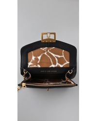 Marc By Marc Jacobs | Black Bianca Jane On A Chain Messenger Clutch | Lyst