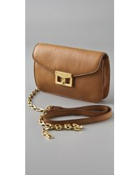 Marc By Marc Jacobs - Brown Bianca Jane On A Chain Crossbody Mini Bag - Lyst