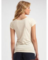 Marc By Marc Jacobs | Natural Blossom Miss Marc Tee | Lyst