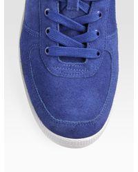PUMA - Blue Dallas Suede Sneakers for Men - Lyst